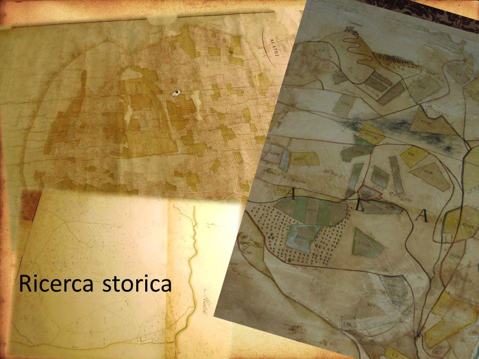 Ricerca mappe storiche Ricerca storica