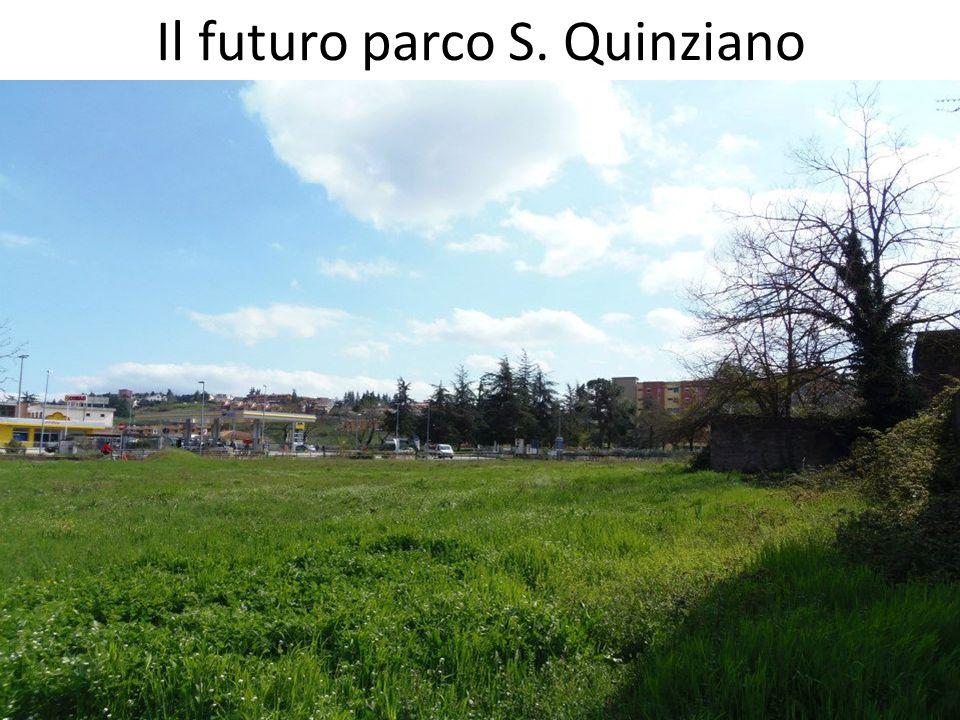 Il futuro parco S. Quinziano