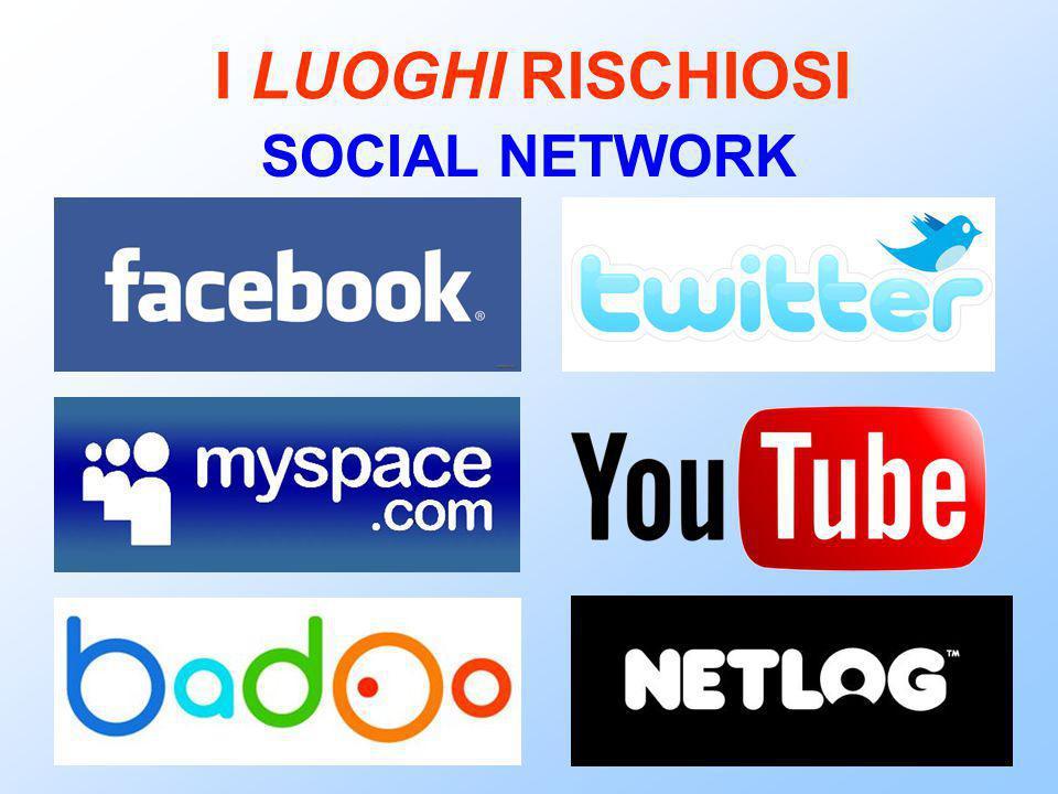 I LUOGHI RISCHIOSI SOCIAL NETWORK