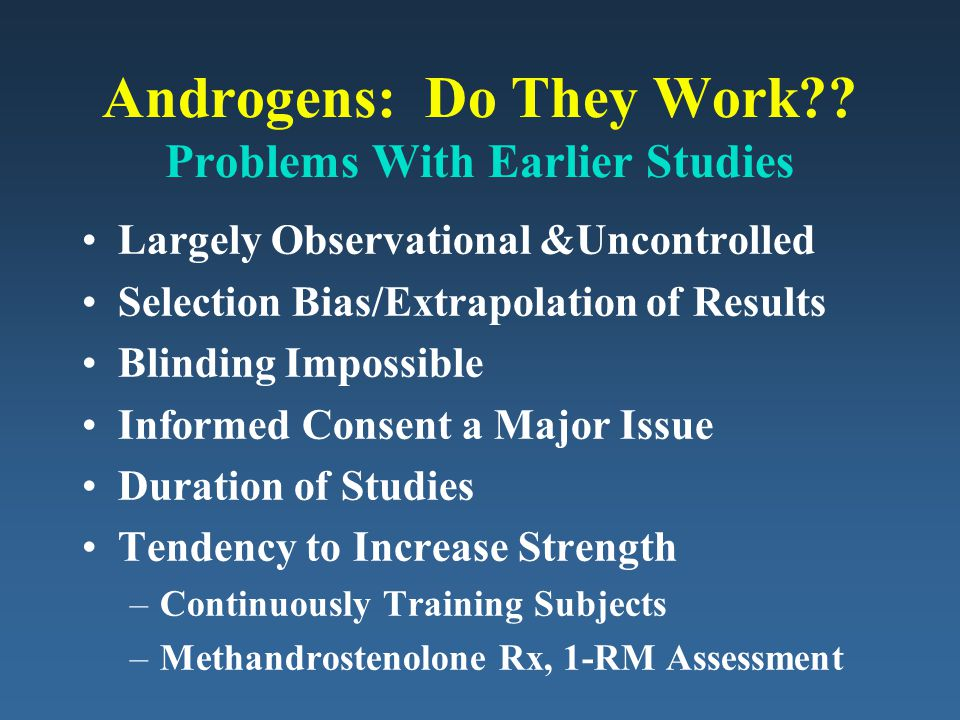 Androgens: Do They Work?.