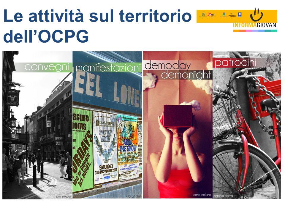 - Le attività sul territorio dell'OCPG