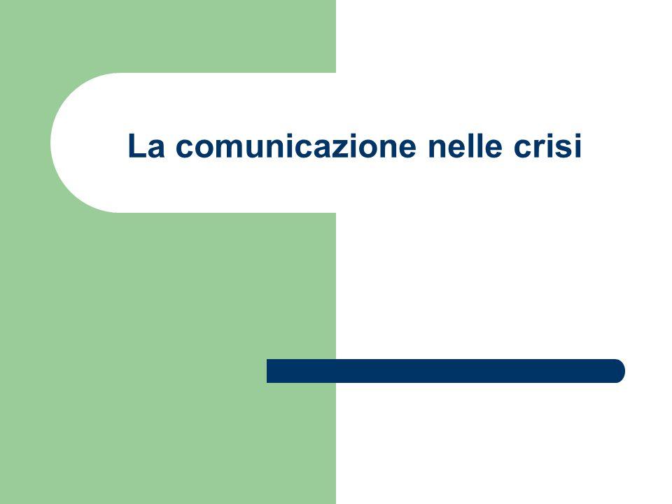 Crisis Management: qualche spunto Ottimizzazione dei comunicati stampa, RSS, dark sites.