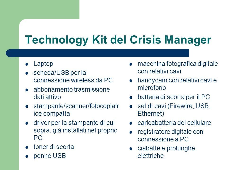 Technology Kit del Crisis Manager Laptop scheda/USB per la connessione wireless da PC abbonamento trasmissione dati attivo stampante/scanner/fotocopia