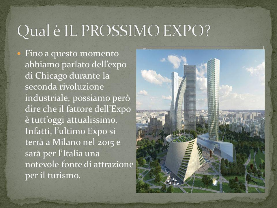 Grazie a Olmsted si ebbe durante l'expo di Chicago la grande costruzione di Central Park.
