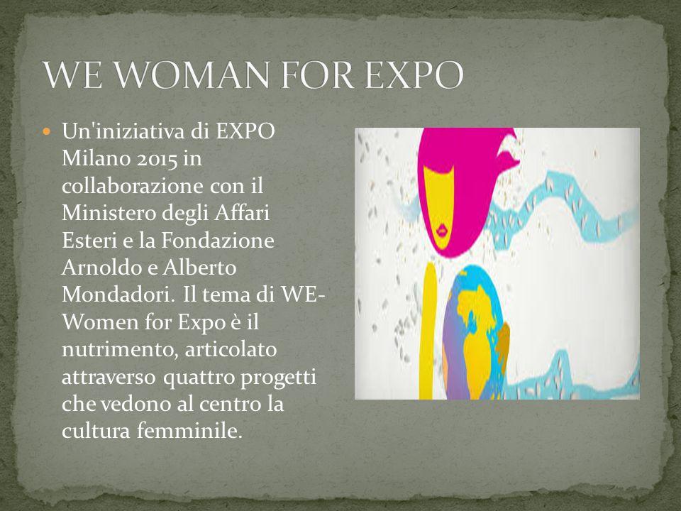 Iniziamo ad approfondire le tematiche dell'expo di Milano, scrivendo quelle che saranno le attività da svolgere: -WE WOMAN FOR EXPO -SHORT FOOD MOVIE -PER UN FUTURO PIU' SOSTENIBILE -PARTECIPA ANCHE TU -CHILDREN SHARE