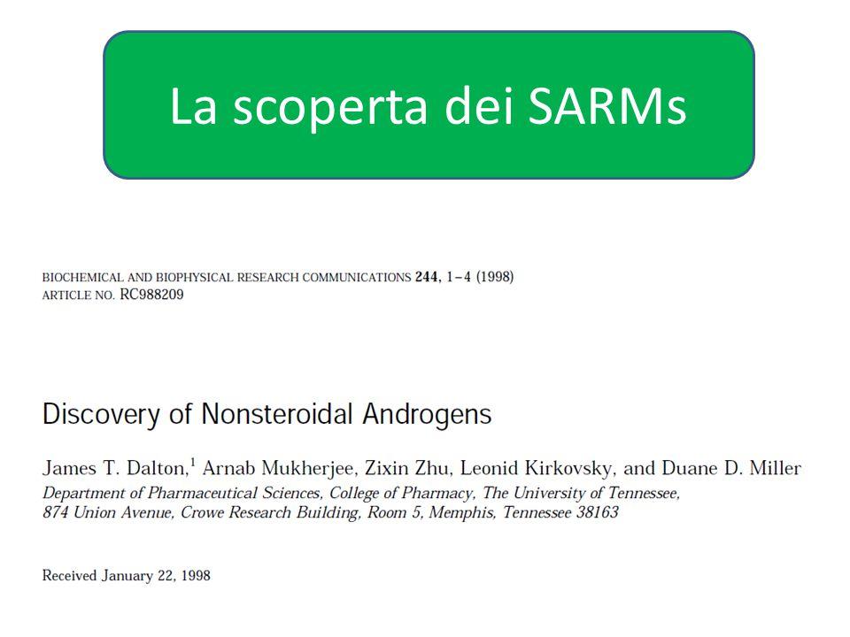 La scoperta dei SARMs