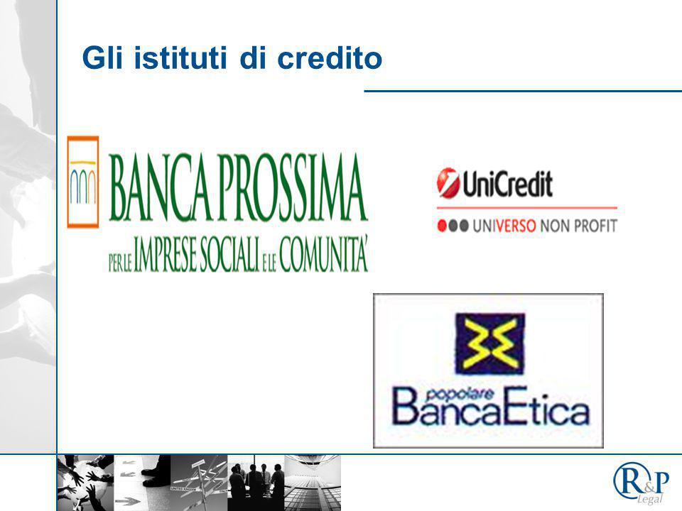 Gli istituti di credito