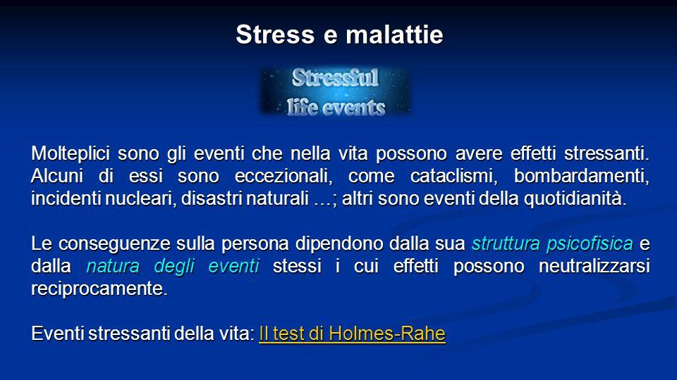 Stress e malattie