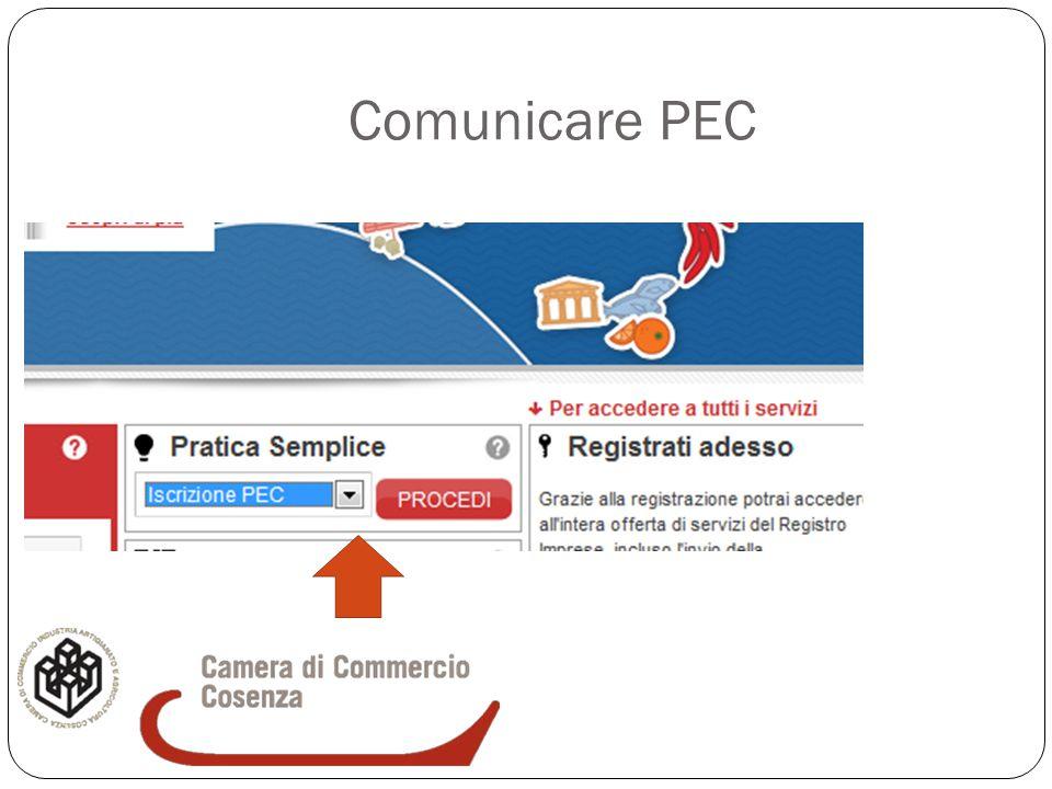 Comunicare PEC