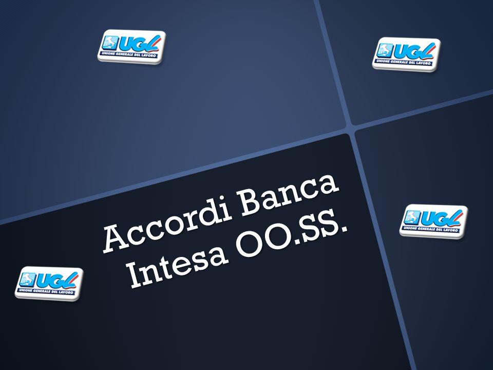 Accordi Banca Intesa OO.SS.