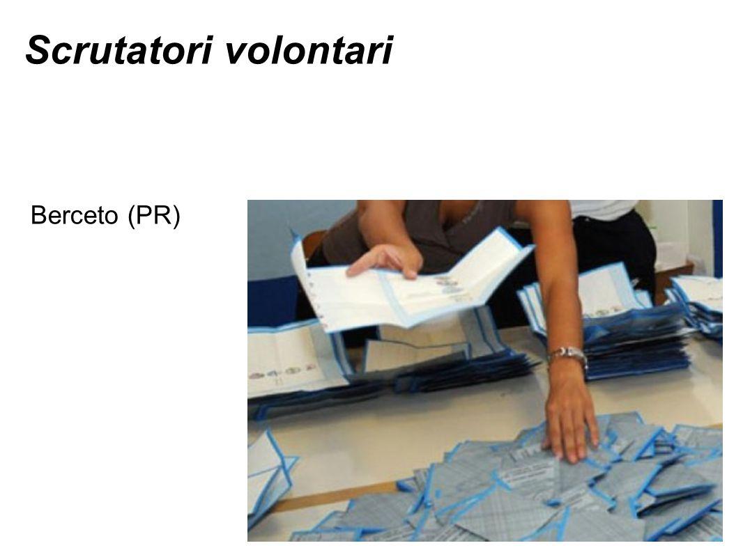Scrutatori volontari Berceto (PR)