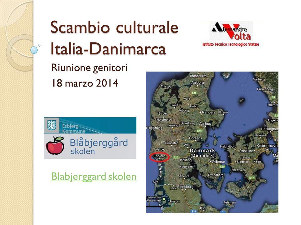 Scambio culturale Italia-Danimarca Riunione genitori 18 marzo 2014 Blabjerggard skolen