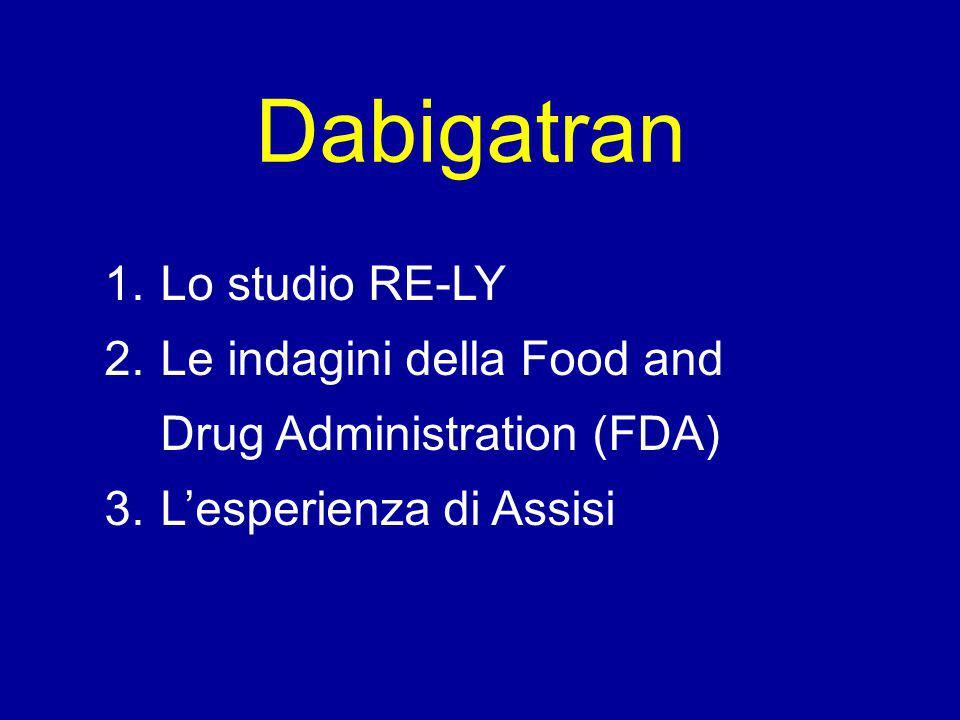 Apix D150 Riva ED60 Warf ED30 D110 D150 ED60 Apix Riva D110 Warf ED30 Major Bleeding Intracranial Bleeding Gastrointestinal Bleeding Myocardial Infarction D150 ED60 ApixRiva D110 Warf ED30 D150 ED60 Apix Riva D110 Warf ED30 Apixaban (Apix)Dabigatran (D) 110 mg 150 mg Edoxaban (ED) 30 mg 60 mg Rivaroxaban (Riva)Warfarin (Warf) Probability of each rank Verdecchia P, Lip GYH, et al.