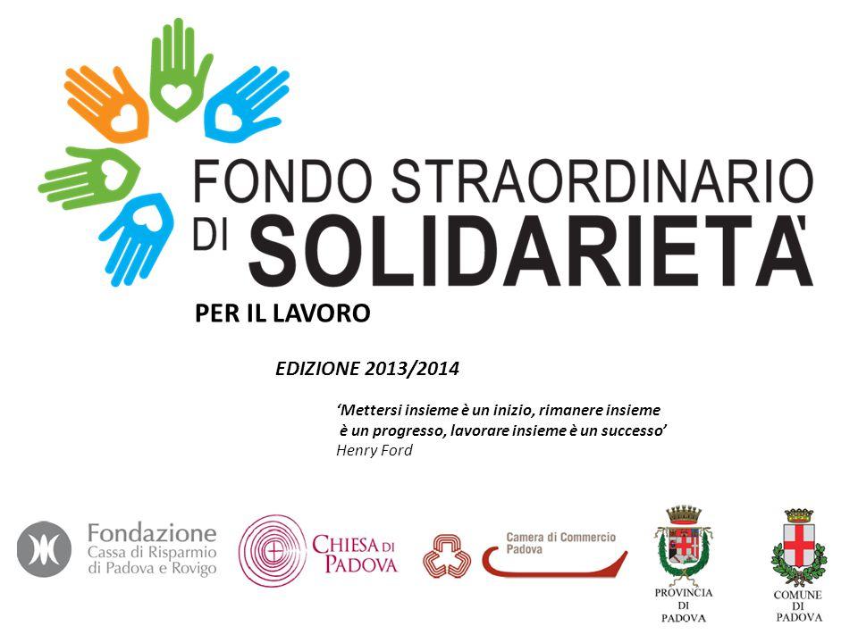 Assegnazioni Area Diocesi Padova Edizione 2013 e 2014 – sit.
