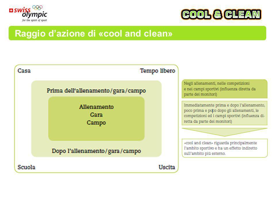 Raggio d'azione di «cool and clean»