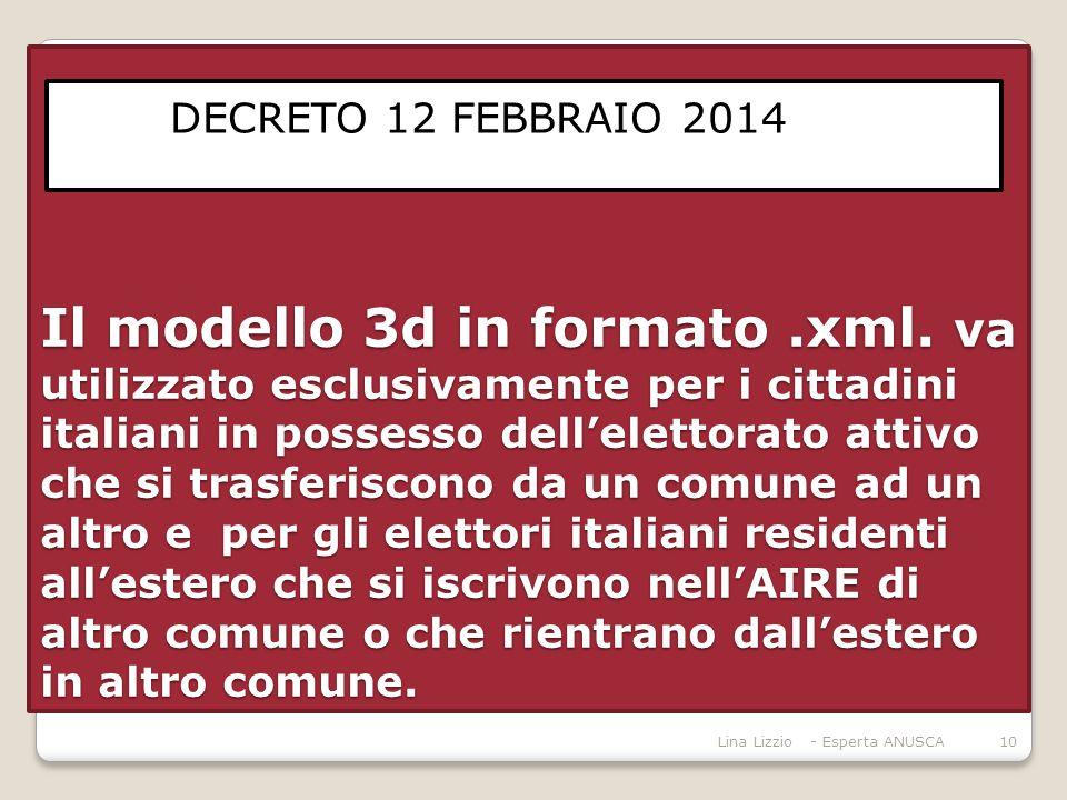 Il modello 3d in formato.xml.