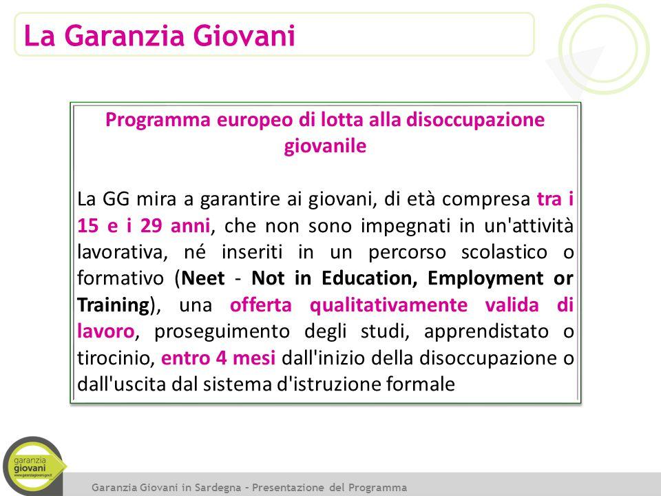 Indennità di tirocinio 65 Direzione regionale INPS Sardegna Garanzia Giovani in Sardegna – Consulta regionale Consulenti del lavoro 28 ottobre 2014