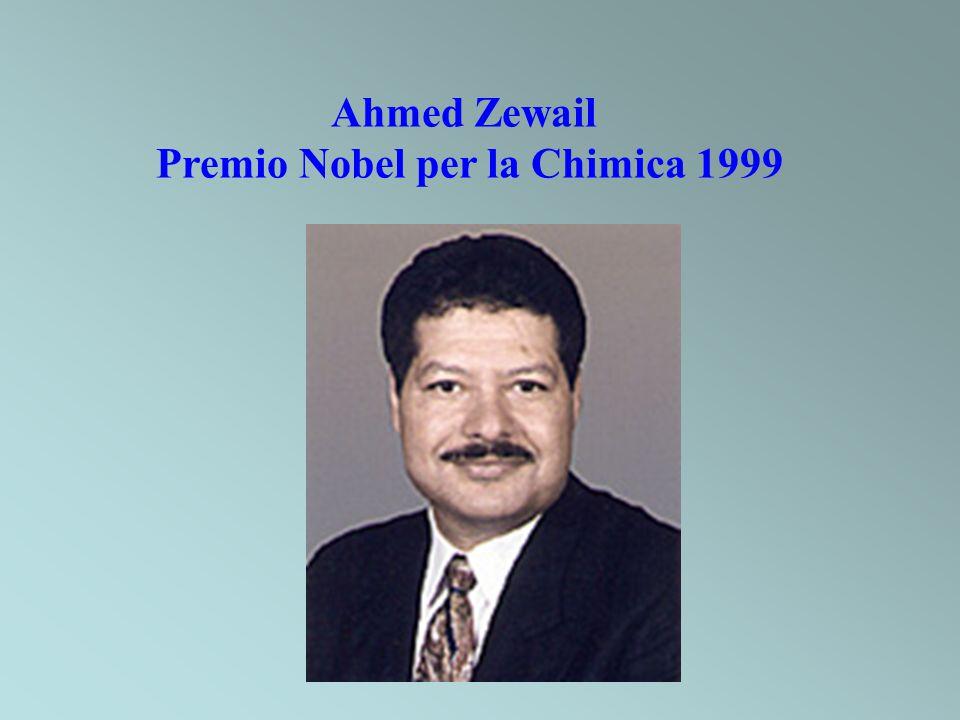 Ahmed Zewail Premio Nobel per la Chimica 1999