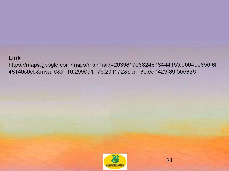 24 Link https://maps.google.com/maps/ms msid=203981706824676444150.000490650f6f 48146c6eb&msa=0&ll=16.299051,-76.201172&spn=30.657429,39.506836