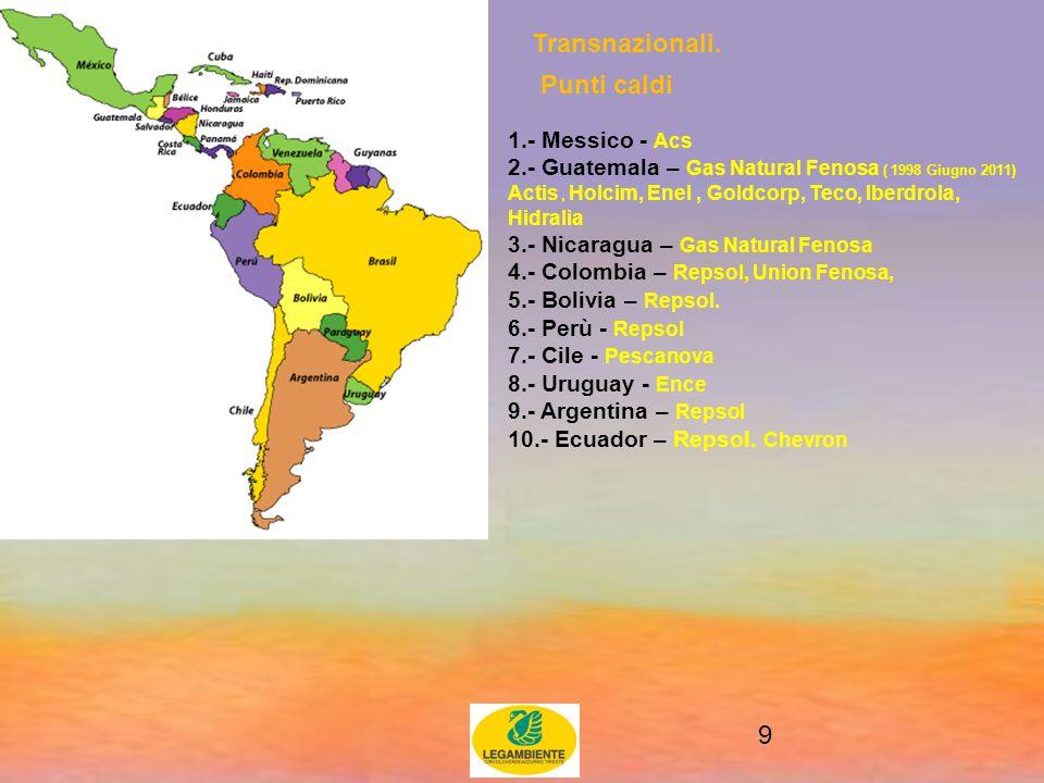 9 Transnazionali.