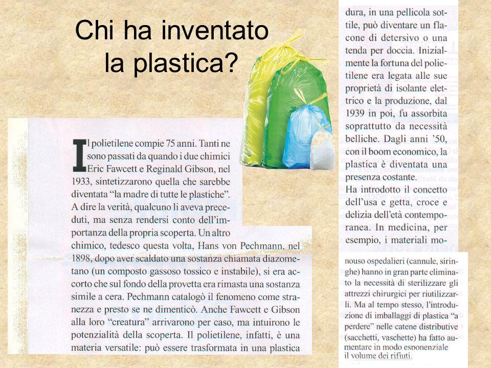 Chi ha inventato la plastica?