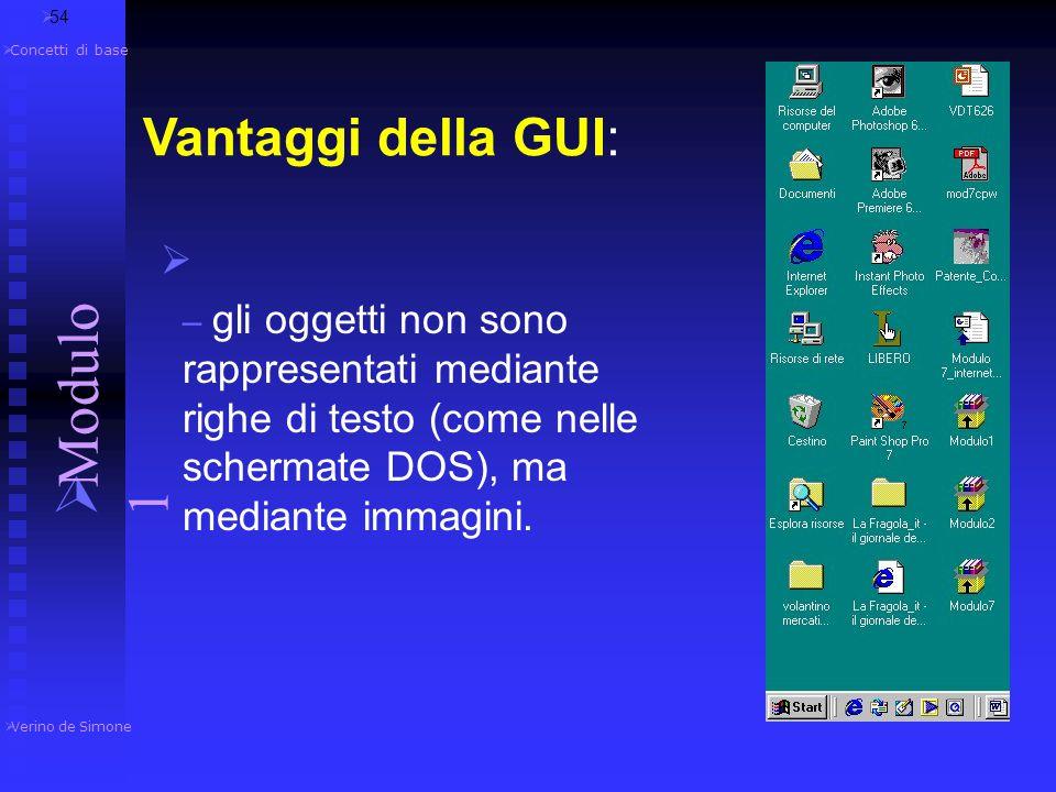  Quando Apple inventò il mouse si diffuse il sistema operativo a interfaccia grafica (GUI Graphical User Interface), in cui i comandi vengono imparti