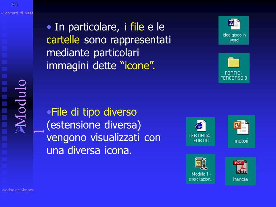 – l'utente non dialoga con il sistema utilizzando un linguaggio di comandi (scrivendo delle parole sullo schermo e premendo Invio) ma tramite il mouse