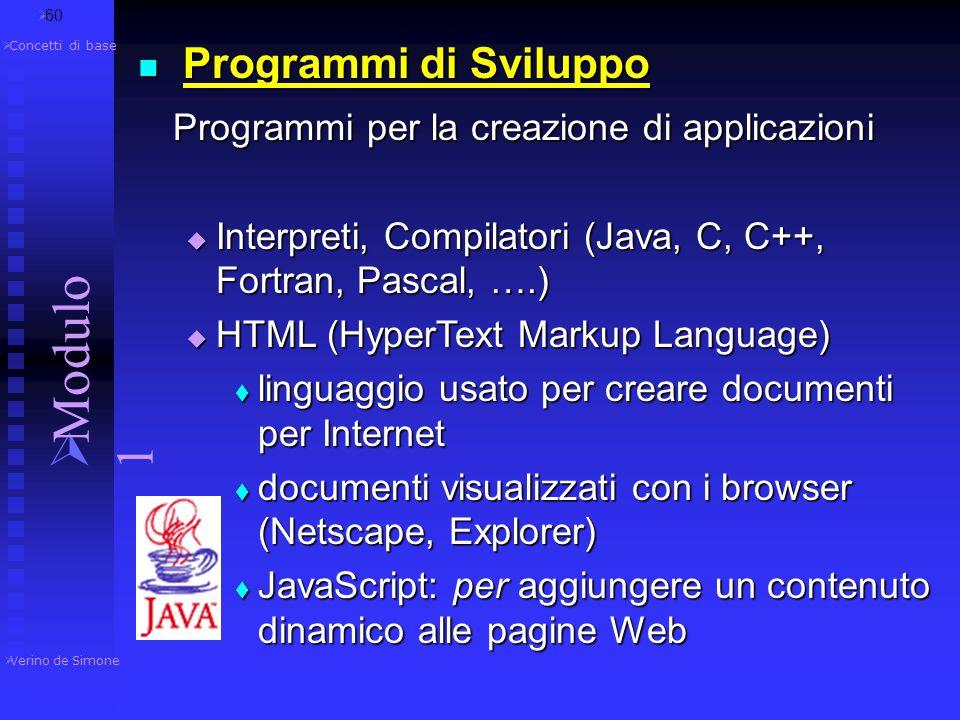 Programmi di elaborazione testi (Word,...) Programmi di elaborazione testi (Word,...)  creazione, modifica e stampa di un documento, di un ipertesto,