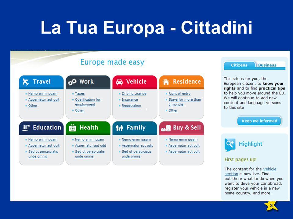 La Tua Europa - Cittadini 3
