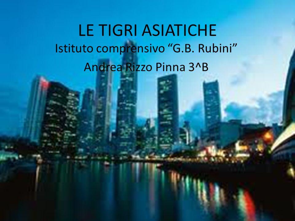 """LE TIGRI ASIATICHE Istituto comprensivo """"G.B. Rubini"""" Andrea Rizzo Pinna 3^B"""