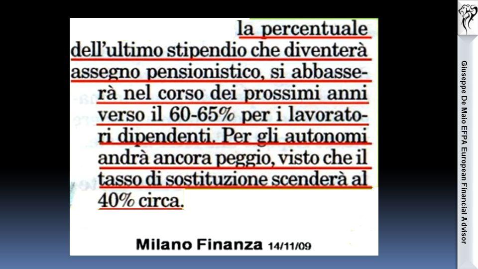 Giuseppe De Maio EFPA European Financial Advisor La base imponibile su cui calcolare l'imposta, per tutti i casi, è l'ammontare dei contributi dedotti e non il montante.