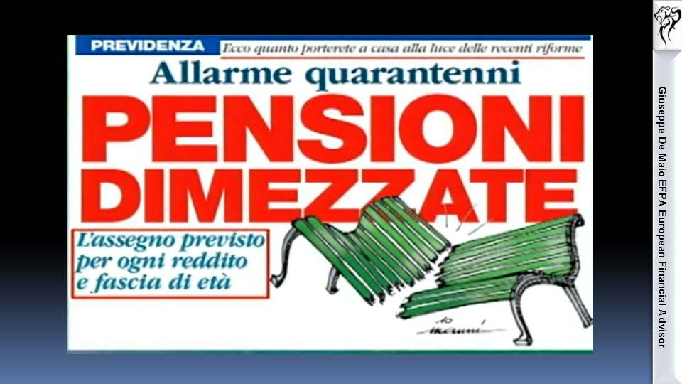 Le forme pensionistiche complementari I FONDI PENSIONE Giuseppe De Maio EFPA European Financial Advisor