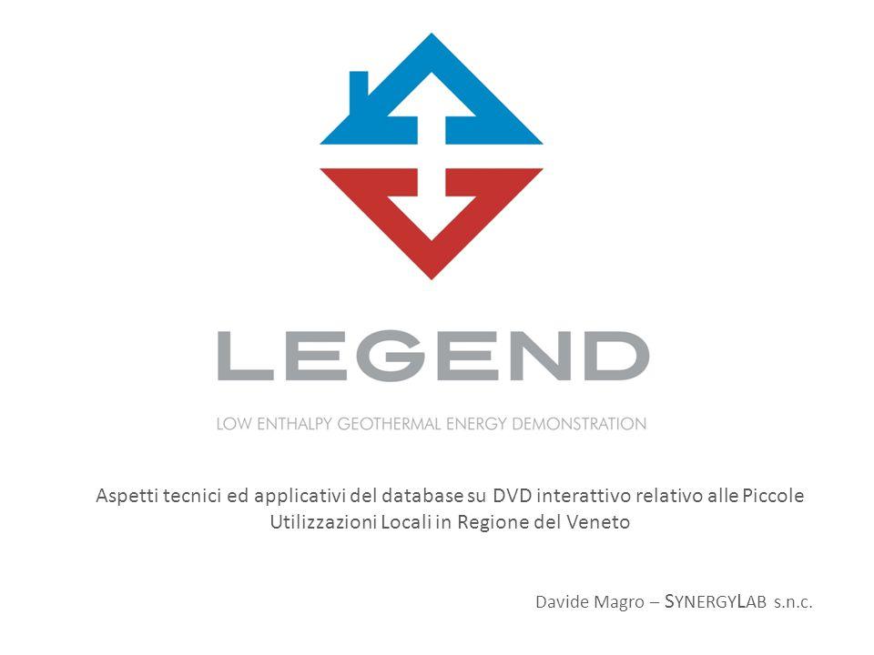 Aspetti tecnici ed applicativi del database su DVD interattivo relativo alle Piccole Utilizzazioni Locali in Regione del Veneto Davide Magro – S YNERGY L AB s.n.c.