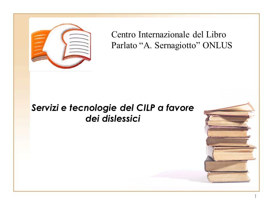 1 Centro Internazionale del Libro Parlato A.