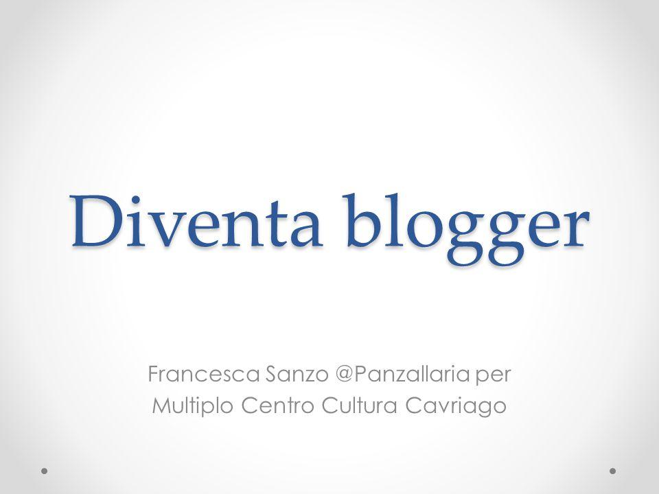 Diventa blogger Francesca Sanzo @Panzallaria per Multiplo Centro Cultura Cavriago
