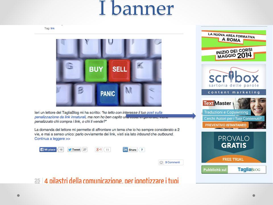 I banner