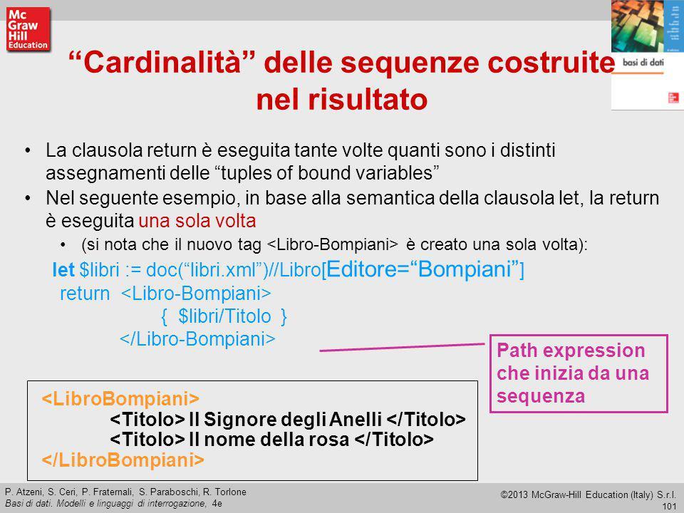 101 P.Atzeni, S. Ceri, P. Fraternali, S. Paraboschi, R.