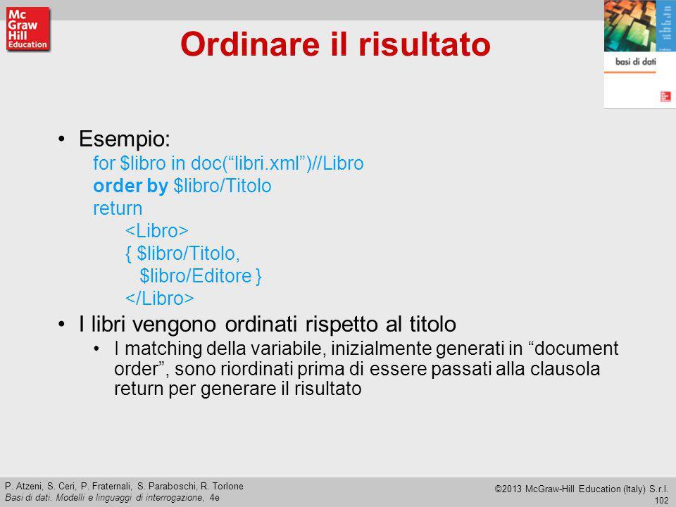 102 P.Atzeni, S. Ceri, P. Fraternali, S. Paraboschi, R.