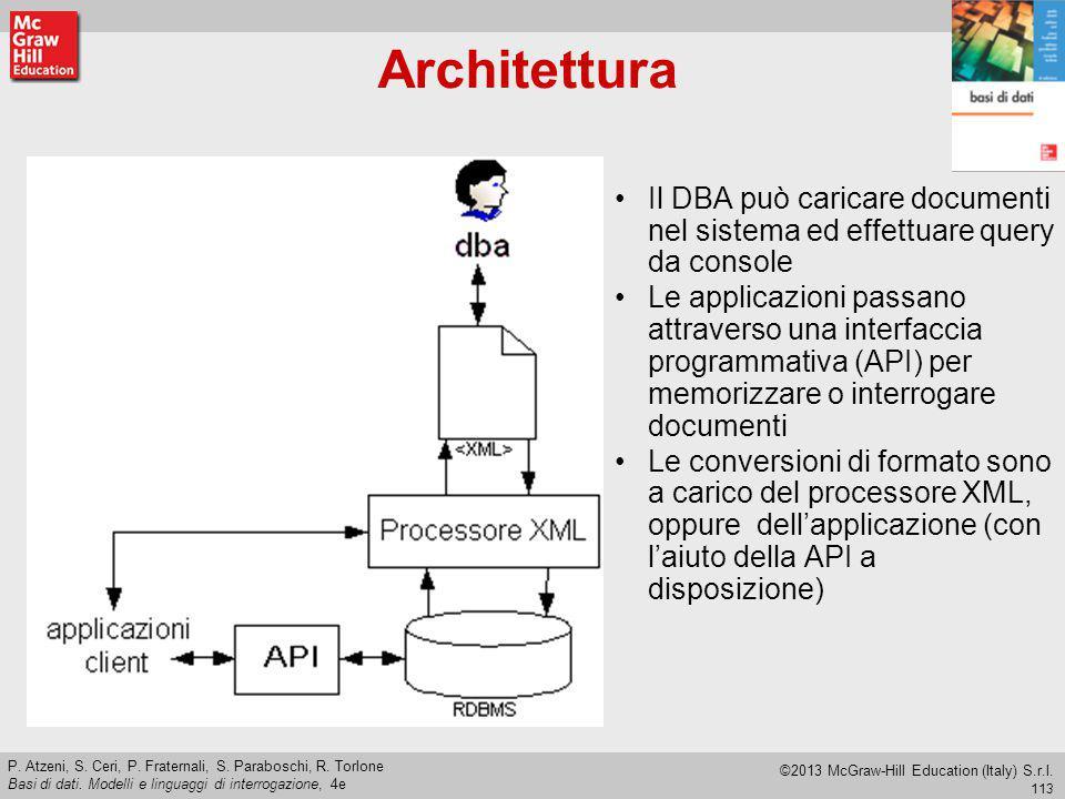 113 P.Atzeni, S. Ceri, P. Fraternali, S. Paraboschi, R.