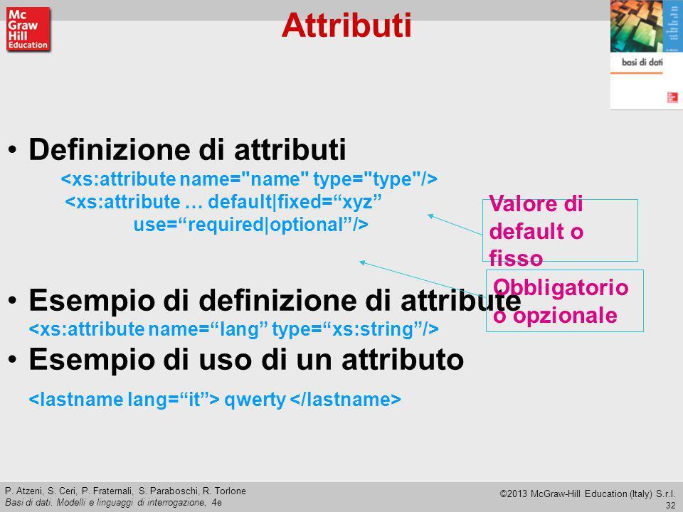 32 P.Atzeni, S. Ceri, P. Fraternali, S. Paraboschi, R.