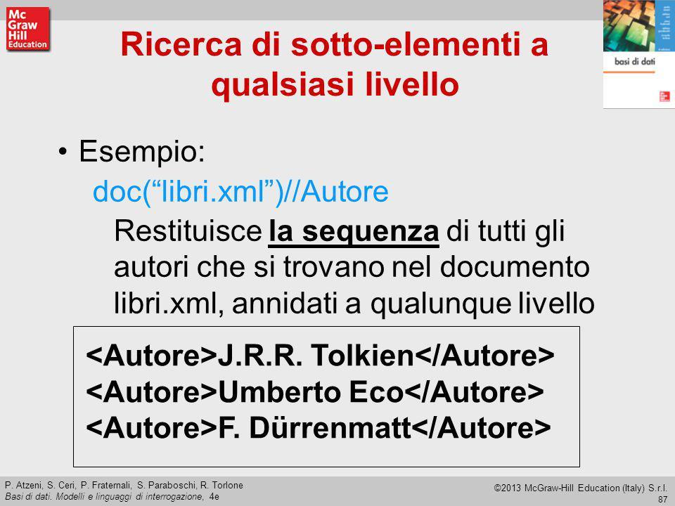 87 P.Atzeni, S. Ceri, P. Fraternali, S. Paraboschi, R.