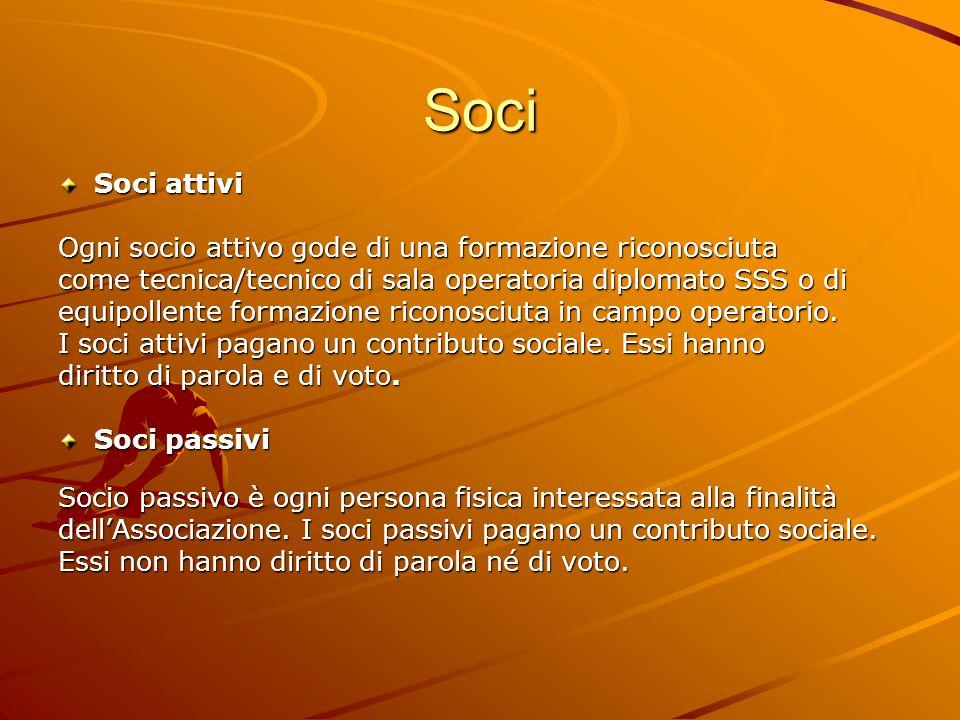 Soci Soci giovani Soci giovani sono studenti che assolvono una formazione riconosciuta.