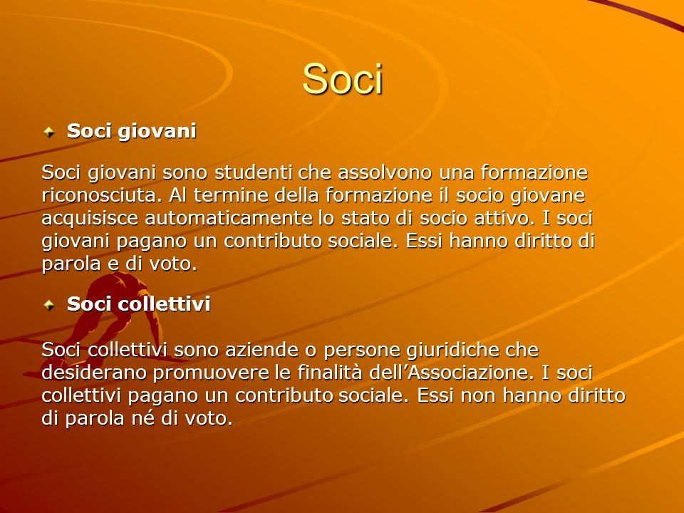 Soci Soci onorari Soci onorari sono persone che hanno acquisito benemerenze a favore della APS TSO.