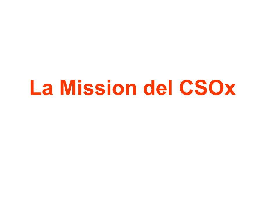 La Mission del CSOx
