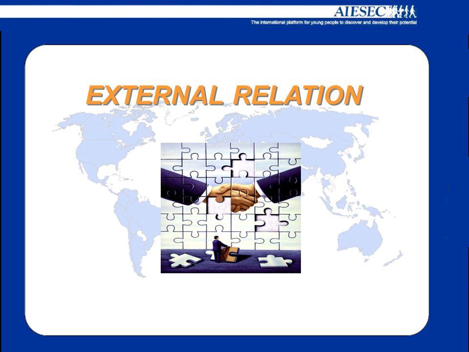 Ricerca sponsor per gli eventi Ricerca partner per le attività Cura i rapporti con partner ed istituzioni Gestisce l'area marketing