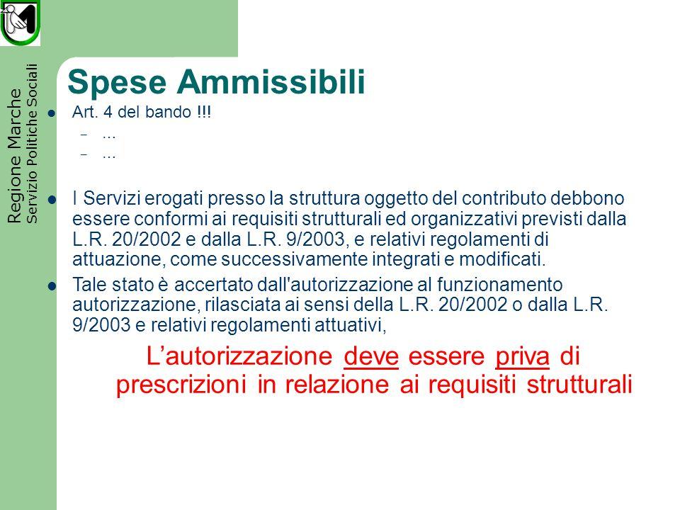 Regione Marche Servizio Politiche Sociali Presentazione delle domande (1) Il richiedente redige la domanda di ammis-sione (All.