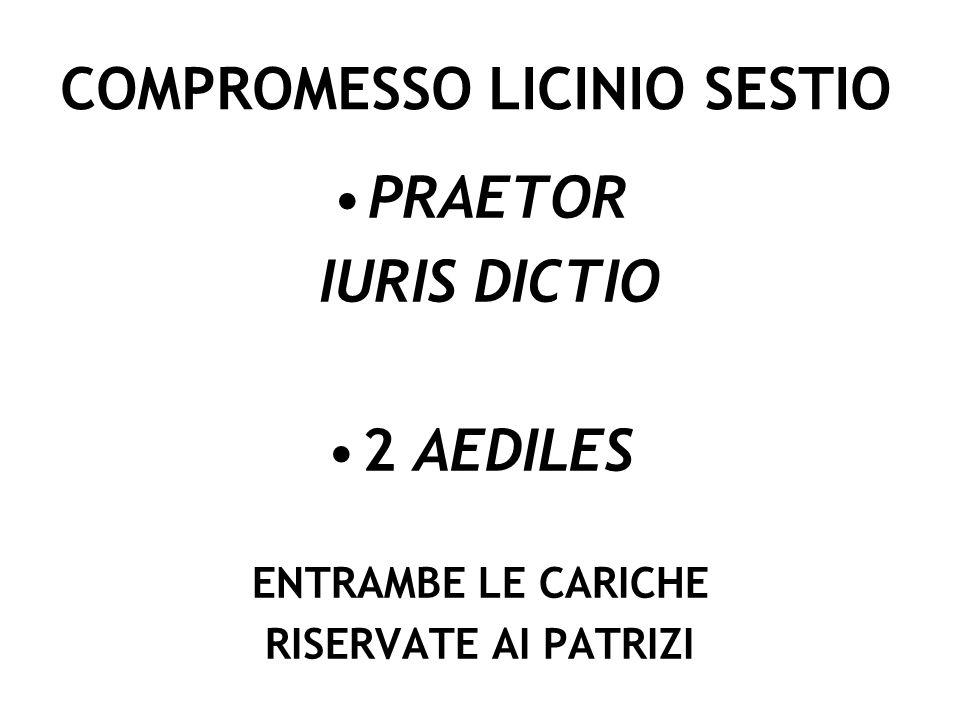 PLEBISCITO OGULNIO (300 A.C.) PONTIFICES DA 4 A 8 AUGURES DA 4 A 9 PLEBEI