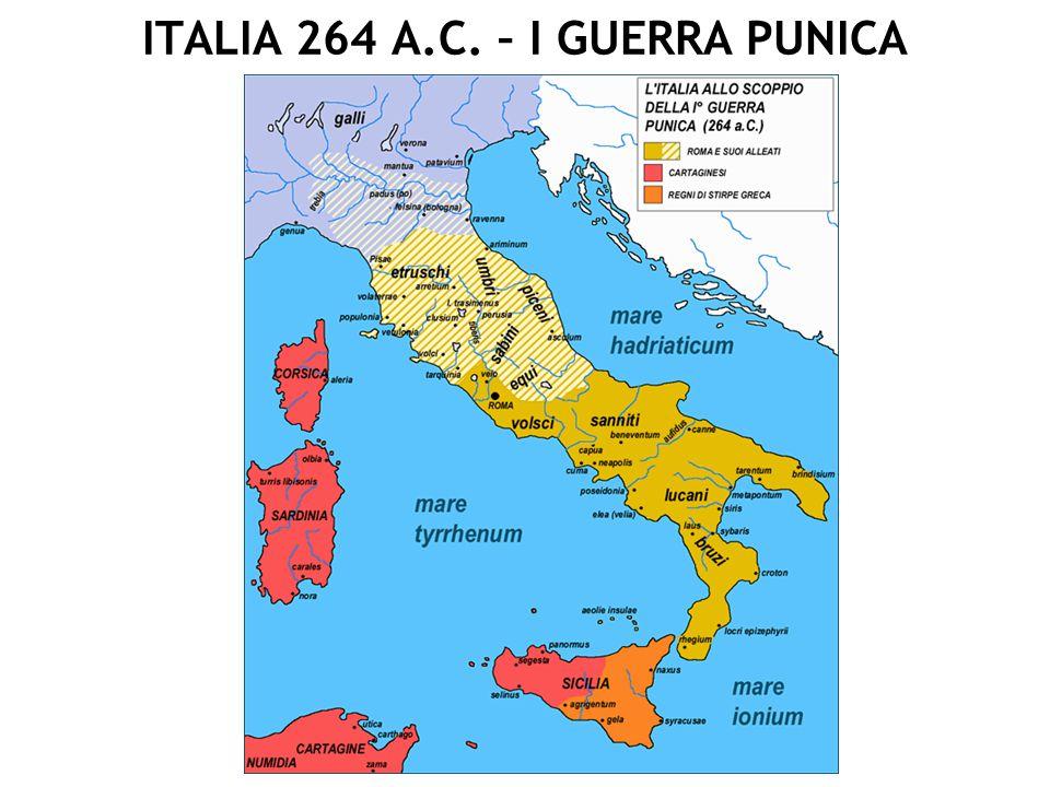 MEDITERRANEO 202 A.C. FINE II GUERRA PUNICA