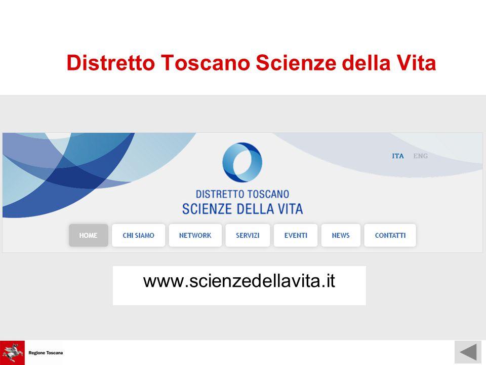 Distretto Toscano Scienze della Vita www.scienzedellavita.it