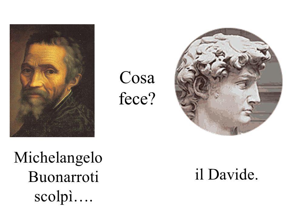 Cosa fece? Dante Alighieri scrisse… La Divina Commedia.